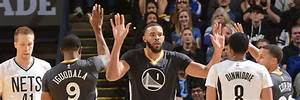 Warriors Beat the Nets for 10th Straight Home Win   Golden ...