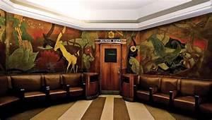 Art deco mural union terminal deco weddings for Art deco train interior