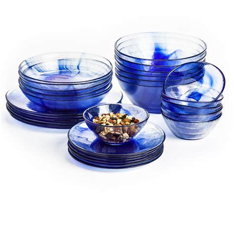 glass dinner plates tempered bormioli murano rocco bowls dinnerware serveware