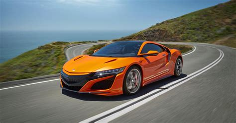 2019 honda nsx debuts with orange paint job and chassis