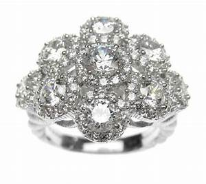 Judith Ripka Sterling Diamonique Ring J308766 Qvc Com