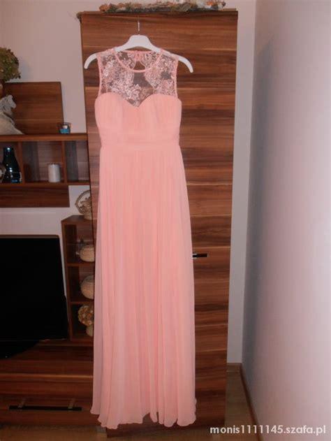 sukienka maxi koronka w suknie i sukienki szafa pl sukienka maxi pudrowy roz koronka piekna w suknie i sukienki szafa pl