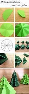 Deko Aus Papier : deko tannenb umchen aus papier falten handmade kultur ~ Lizthompson.info Haus und Dekorationen