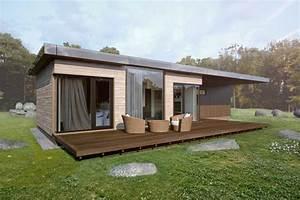 Modular wooden houses