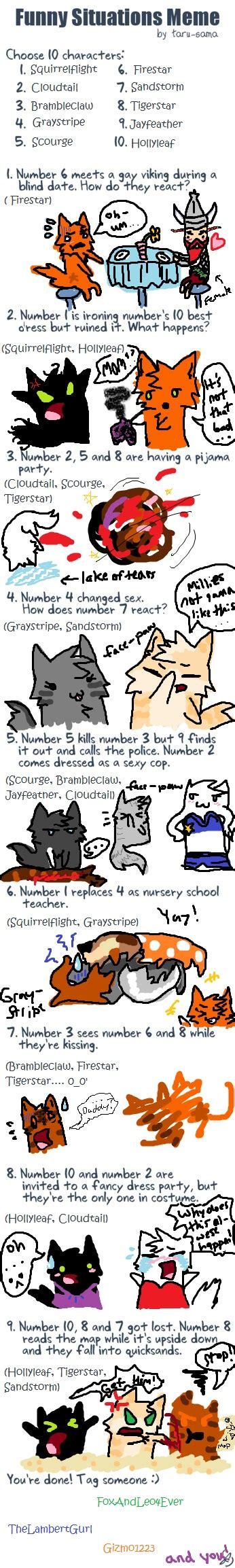Warrior Cats Memes - warrior cats funny quotes quotesgram