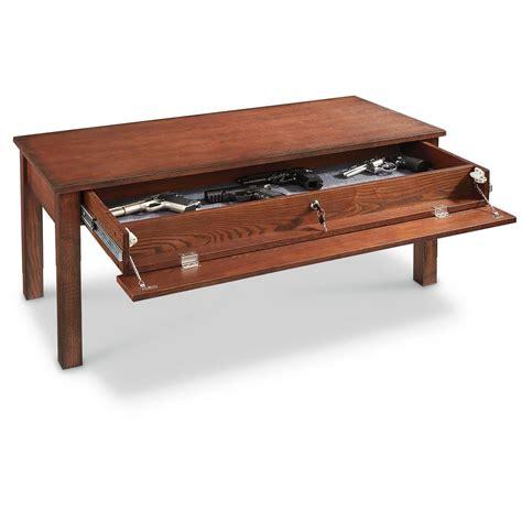 Castlecreek Gun Concealment Coffee Table  671295, Living