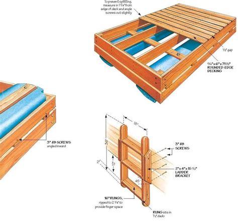 swim raft wood plans diy pinterest wood plans  swimming