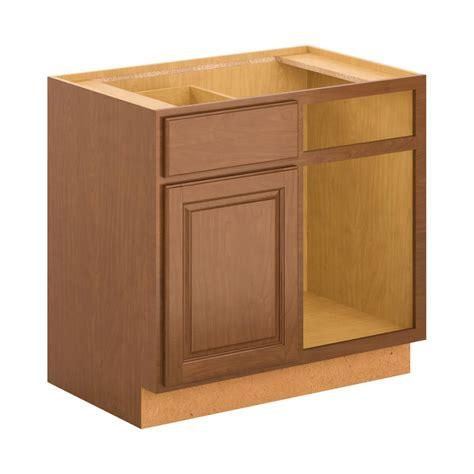 hton bay 30x34 5x24 in sink base cabinet in cognac