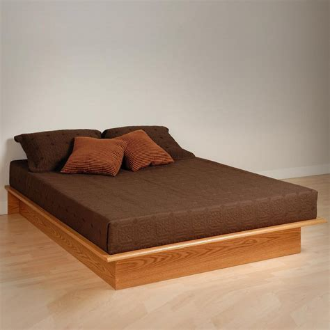 platform beds with headboard prepac edenvale platform