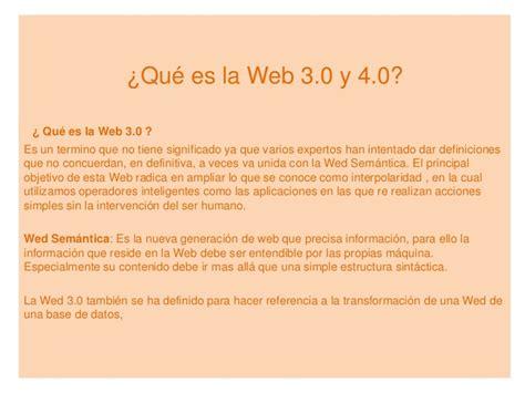 Qué Es La Web 3.0 Y 4.0