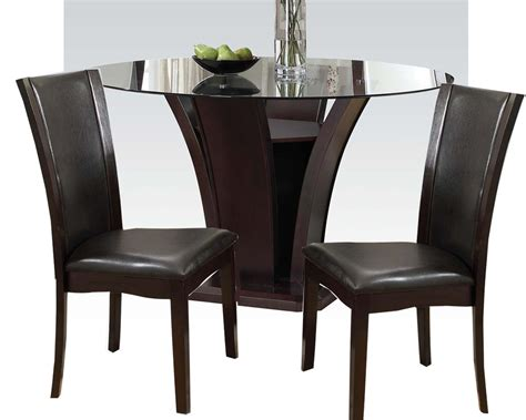 dining set    table malik  acme furniture