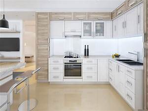 How, To, Go, Modern, With, White, Shaker, Cabinets
