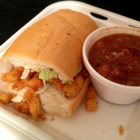 po麝e cuisine seafood muffuletta picture of parran 39 s po boys restaurant metairie tripadvisor