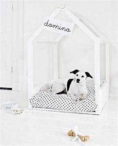 19 wooden dog beds to create for your furry four legged With modern indoor dog house
