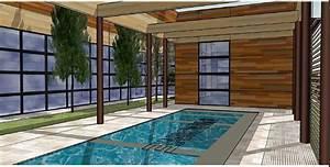 escalier interieur piscine bois myqtocom With amenagement d une piscine 5 constructeur de piscine interieure dans les hauts de france