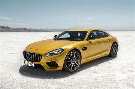 Gambar Mobil Mercedes Amg Gt by Mercedes Amg Hints At 4 Door Gt With Geneva Concept