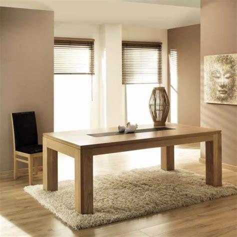 table de salle à manger extensible table de salle 224 manger en ch 234 ne massif extensible baobab 4 pieds tables chaises et tabourets