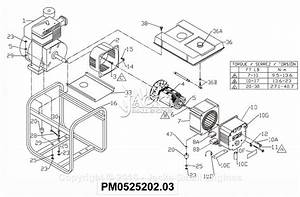 Powermate Formerly Coleman Pm0525202 03 Parts Diagram For