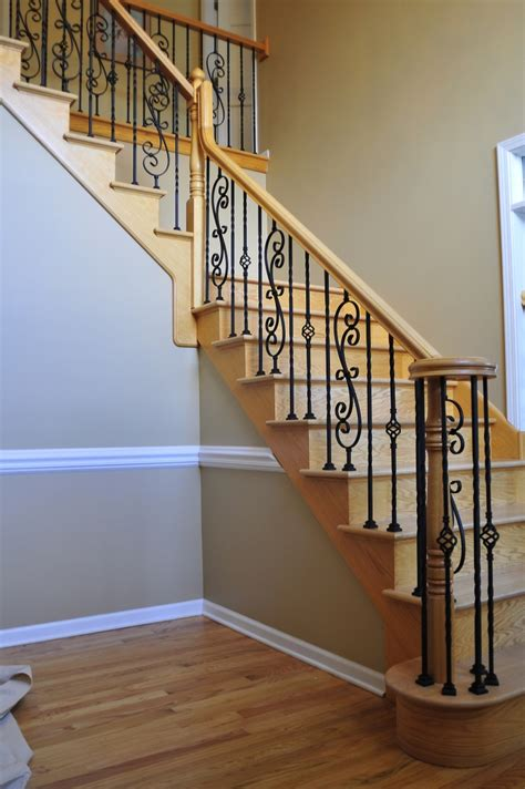 Wood Banister by Best 25 Iron Staircase Ideas On Stairs