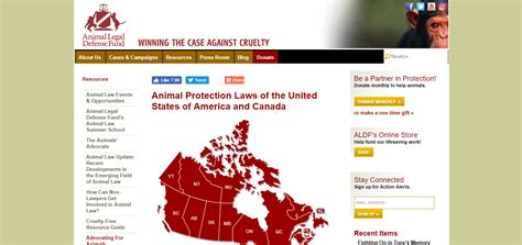animal protection laws   united states  canada