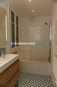 But Salle De Bain : r novation salle de bain paris plombier paris express ~ Dallasstarsshop.com Idées de Décoration