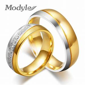 wedding rings fashion cz stone rings for women and men With high quality wedding rings
