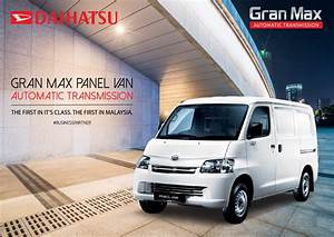 The New Daihatsu Grand Max  Automatic Transmission  Panel Van Is Now Open For Booking