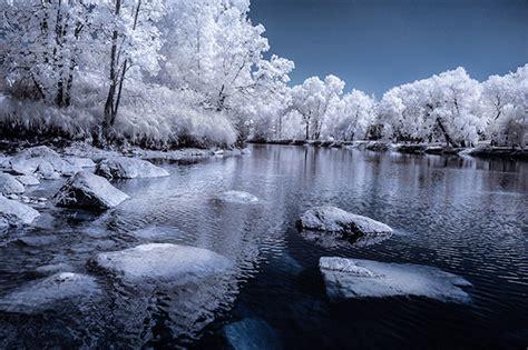 creative ways  process infrared photographs  photoshop