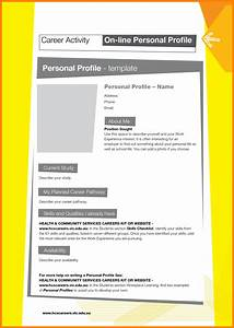 8 personal profile template address example With html templates for personal profile
