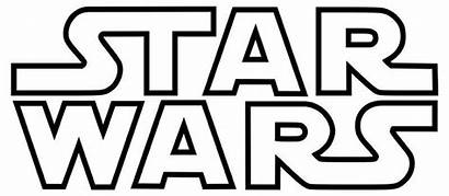 Decal Vinyl Wars Star Outlined