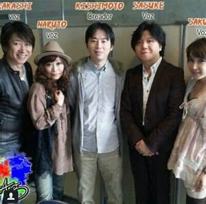 The Naruto Japanese Voice Actors O People I Like