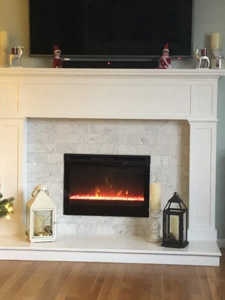 fireplace mantle makeover  concord carpenter