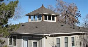 Mastering roof inspections roof styles internachi for Cupola windows