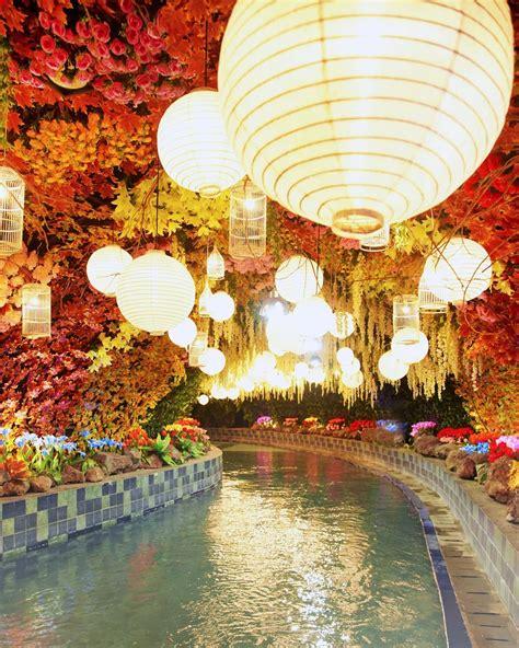 malang night paradise wisata malam bertema glowing