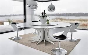 Weißer Tisch Mit Holzplatte : moderne esszimmerm bel 28 design ideen f r esstisch und st hle ~ Bigdaddyawards.com Haus und Dekorationen