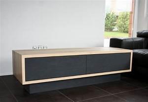 Banc Tv Suspendu : fabriquer un meuble tv bas solutions pour la d coration int rieure de votre maison ~ Teatrodelosmanantiales.com Idées de Décoration