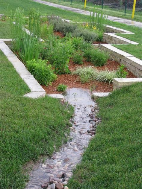 drainage options for yard garden ponds design and landscape green landscapes forever green grows garden pinterest