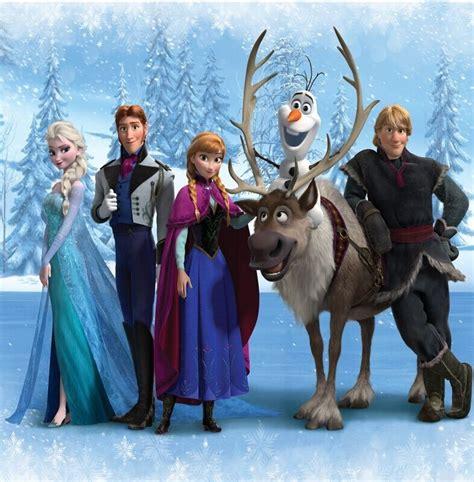 und elsa le 10x10ft hans kristoff sven olaf elsa princess snow flakes iced forest photo