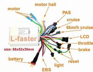 2019 24v36v48v 250w350w Brushless Motor Controller
