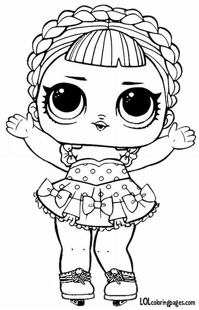 Lol Coloring Pages Dolls Series Surprise Lolcoloringpages