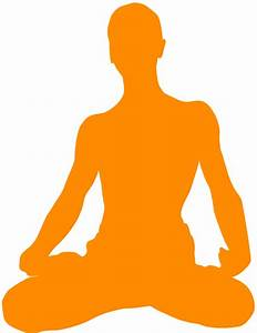 Meditation Silhouette | Free vector silhouettes