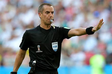 england  colombia referee announced  world cup