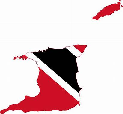 Trinidad Tobago Flag Map Clipart Spain Maps