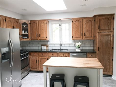 how to update kitchen cabinets without painting updating a 90s kitchen without painting cabinets