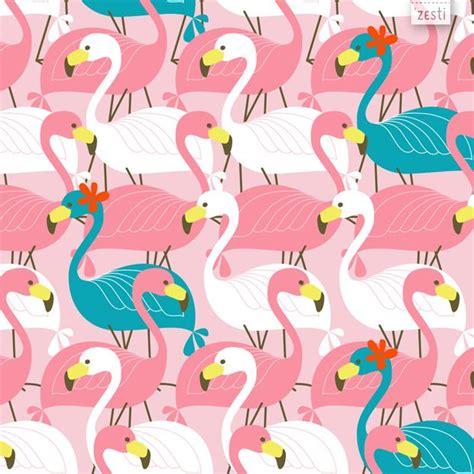 pink flamingo patterns art illustration flamant rose
