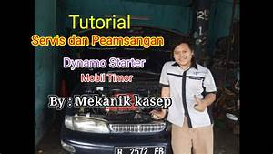 Tutorial Servis Dynamo Mobil Timor Merger By Bengkel Ac