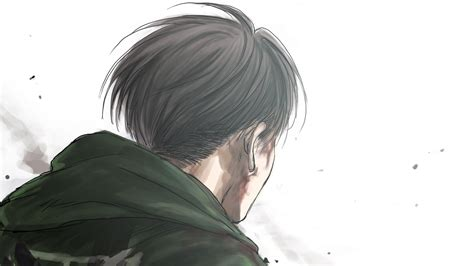 Search free attack on titan wallpapers on zedge and personalize your phone to suit you. Attack On Titan Closeup Back View Of Levi Ackerman With White Background HD Anime Wallpapers ...
