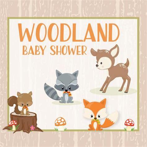 woodland animals baby showers celebrate life crafts