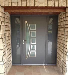 porte d entree design 28 images porte d entr 233 e With porte d entrée pvc avec seche linge mural salle de bain