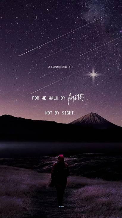 Faith Bible Quotes Verses Inspirational Starry Sight